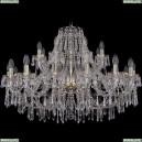 1403/16+8/360/G Хрустальная подвесная люстра Bohemia Ivele Crystal (Богемия), 1403
