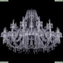 1403/16+8/460/Ni Хрустальная подвесная люстра Bohemia Ivele Crystal (Богемия), 1403