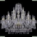 1403/16+8+4/300/G Хрустальная подвесная люстра Bohemia Ivele Crystal