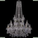 1403/16+8+4/300/h-130/3d/Pa Хрустальная подвесная люстра Bohemia Ivele Crystal (Богемия), 1403