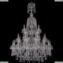 1403/16+8+4/300/XL-131/3d/Pa Хрустальная подвесная люстра Bohemia Ivele Crystal (Богемия), 1403