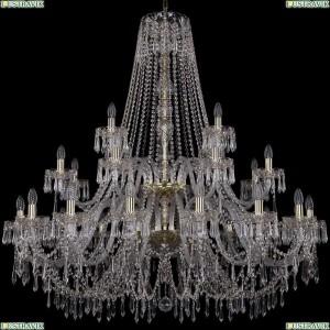 1403/16+8+4/460/2d/G Подвесная люстра Bohemia Ivele Crystal (Богемия), 1403