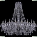 1403/20/400/h-114/Pa Хрустальная подвесная люстра Bohemia Ivele Crystal (Богемия), 1403
