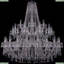 1403/20+10+5/400/2d/Ni Хрустальная подвесная люстра Bohemia Ivele Crystal (Богемия), 1403