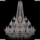 1403/20+10+5/400/h-160/3d/G Хрустальная подвесная люстра Bohemia Ivele Crystal