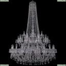 1403/20+10+5/400/h-164/2d/Ni Хрустальная подвесная люстра Bohemia Ivele Crystal (Богемия), 1403