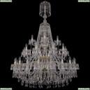 1403/20+10+5/400/XL-160/3d/G Хрустальная подвесная люстра Bohemia Ivele Crystal