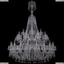 1403/20+10+5/400/XL-164/2d/Ni Хрустальная подвесная люстра Bohemia Ivele Crystal