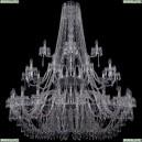 1403/20+10+5/530/3d/Ni Хрустальная подвесная люстра Bohemia Ivele Crystal (Богемия), 1403
