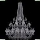 1403/20+10+5/530/h-203/3d/Ni Хрустальная подвесная люстра Bohemia Ivele Crystal (Богемия), 1403