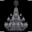 1403/20+10+5/530/XL-203/3d/Ni Хрустальная подвесная люстра Bohemia Ivele Crystal