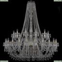 1403/24+12/530/h-160/G Хрустальная подвесная люстра Bohemia Ivele Crystal (Богемия), 1403