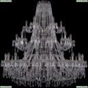 1403/24+12+6/460/3d/Pa Хрустальная подвесная люстра Bohemia Ivele Crystal (Богемия), 1403