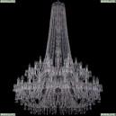 1403/24+12+6/460/h-177/2d/Ni Хрустальная подвесная люстра Bohemia Ivele Crystal