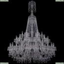 1403/24+12+6/460/XL-177/2d/Ni Хрустальная подвесная люстра Bohemia Ivele Crystal