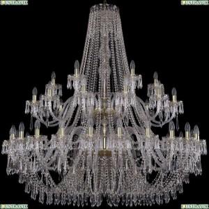 1403/24+12+6/530/2d/G Подвесная люстра Bohemia Ivele Crystal (Богемия), 1403