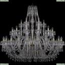 1403/24+12+6/530/G Хрустальная подвесная люстра Bohemia Ivele Crystal