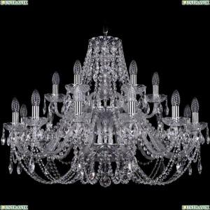 1406/12+6/300/2d/Ni Подвесная люстра Bohemia Ivele Crystal (Богемия), 1406