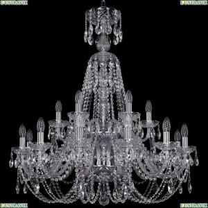 1406/12+6/300/XL-95/2d/Ni Подвесная люстра Bohemia Ivele Crystal (Богемия), 1406