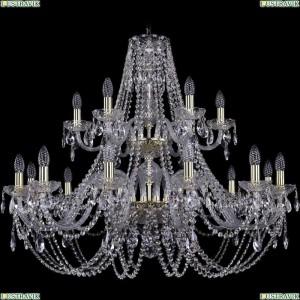 1406/12+6/360/2d/G Подвесная люстра Bohemia Ivele Crystal (Богемия), 1406