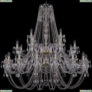1406/16+8+4/460/2d/G Подвесная люстра Bohemia Ivele Crystal (Богемия), 1406