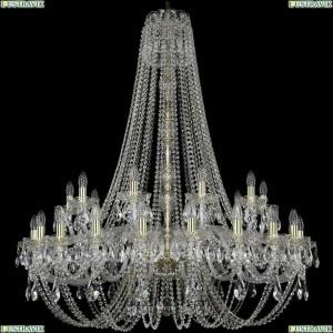1406/20+10/400/h-130/G Подвесная люстра Bohemia Ivele Crystal (Богемия), 1406