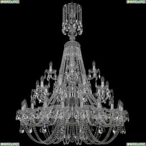 1406/20+10+5/400/XL-157/3d/Ni Подвесная люстра Bohemia Ivele Crystal (Богемия), 1406