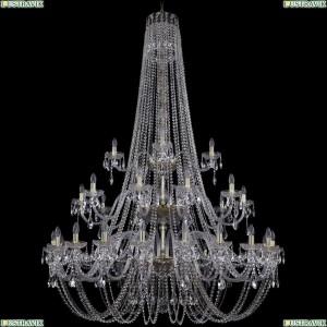 1406/20+10+5/530/h-204/3d/G Подвесная люстра Bohemia Ivele Crystal (Богемия), 1406