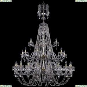 1406/20+10+5/530/XL-204/3d/G Подвесная люстра Bohemia Ivele Crystal (Богемия), 1406