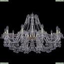 1409/10/360/G Хрустальная подвесная люстра Bohemia Ivele Crystal (Богемия), 1409