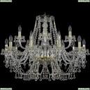 1409/10+5/300/G Хрустальная подвесная люстра Bohemia Ivele Crystal (Богемия), 1409