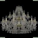 1409/12+6/300/2d/G Хрустальная подвесная люстра Bohemia Ivele Crystal (Богемия), 1409