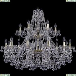 1409/12+6/360/2d/G Подвесная люстра Bohemia Ivele Crystal (Богемия), 1409