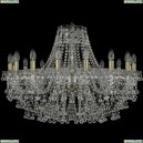 1409/16/300/Pa Хрустальная подвесная люстра Bohemia Ivele Crystal (Богемия), 1409