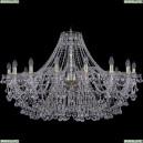 1409/16/400/G Хрустальная подвесная люстра Bohemia Ivele Crystal (Богемия), 1409