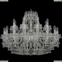 1409/16+8/300/Ni Хрустальная подвесная люстра Bohemia Ivele Crystal (Богемия), 1409