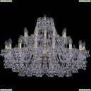 1409/16+8/360/G Хрустальная подвесная люстра Bohemia Ivele Crystal (Богемия), 1409