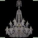 1409/16+8+4/400/XL-164/2d/G Хрустальная подвесная люстра Bohemia Ivele Crystal (Богемия), 1409