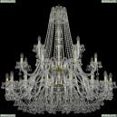1409/16+8+4/460/2d/G Хрустальная подвесная люстра Bohemia Ivele Crystal (Богемия), 1409