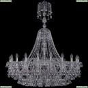 1409/20/400/XL-133/Ni Хрустальная подвесная люстра Bohemia Ivele Crystal (Богемия), 1409