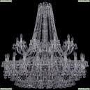 1409/20+10/400/2d/Ni Хрустальная подвесная люстра Bohemia Ivele Crystal (Богемия), 1409