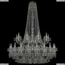 1409/20+10/400/h-152/2d/Ni Хрустальная подвесная люстра Bohemia Ivele Crystal (Богемия), 1409