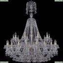1409/20+10/400/XL-132/G Хрустальная подвесная люстра Bohemia Ivele Crystal (Богемия), 1409