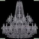 1409/20+10+5/400/2d/Ni Хрустальная подвесная люстра Bohemia Ivele Crystal (Богемия), 1409