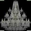 1409/20+10+5/400/3d/G Хрустальная подвесная люстра Bohemia Ivele Crystal (Богемия), 1409