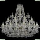 1409/20+10+5/400/G Хрустальная подвесная люстра Bohemia Ivele Crystal (Богемия), 1409