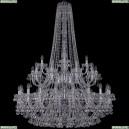 1409/20+10+5/400/h-152/2d/Ni Хрустальная подвесная люстра Bohemia Ivele Crystal (Богемия), 1409