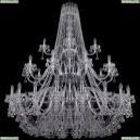 1409/20+10+5/530/3d/Ni Хрустальная подвесная люстра Bohemia Ivele Crystal (Богемия), 1409