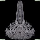 1409/24+12+6/460/h-174/2d/Ni Хрустальная подвесная люстра Bohemia Ivele Crystal (Богемия), 1409