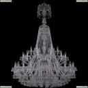 1409/24+12+6/460/XL-175/2d/Ni Хрустальная подвесная люстра Bohemia Ivele Crystal (Богемия), 1409